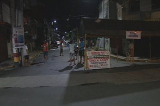 Hard lockdown sa barangay sa Maynila nagsimula na