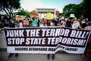 Growing outcry over anti-terror bill in PH sparks street protests