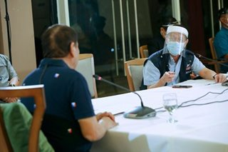 'Sigurado ako sa kaniya': Duterte vows Duque's innocence amid Ombudsman probe