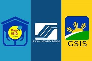 Ilang transaksiyon ng SSS, GSIS, Pag-IBIG puwede nang gawin online