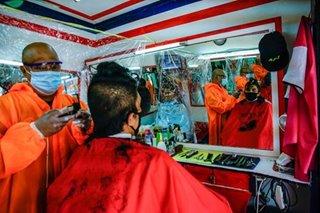'Nagbebenta ng gulay': Mga pagupitan kani-kaniyang paraan para mairaos ang quarantine