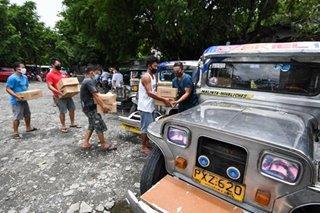 Tulong hatid sa ilang jeepney driver sa Valenzuela City