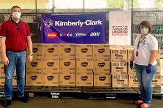 Kimberly-Clark donates P3.2M in diapers, hygiene products for COVID-19 relief