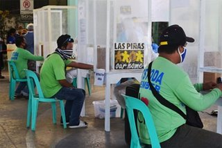 Halos 700 tricycle drivers sa Las Piñas sumalang sa COVID-19 rapid tests