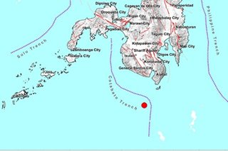 Magnitude 4.4 quake hits off Davao Occidental