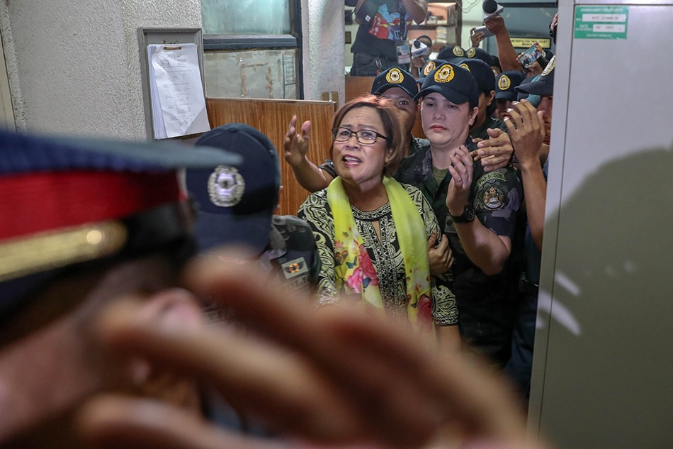 De Lima files appeals petition to join Senate online sessions 1