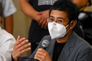 Court of Appeals denies Maria Ressa's appeal to travel to US to receive award