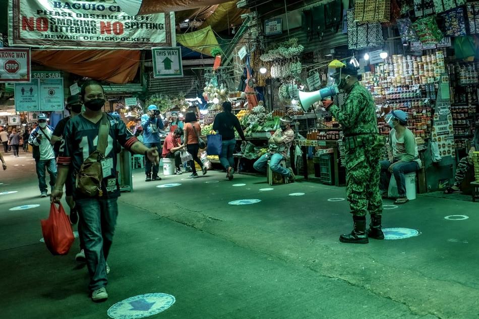 Baguio public market without the crowd