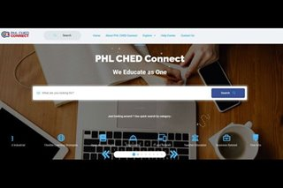 Online portal na naglalaman ng learning materials inilunsad ng CHED