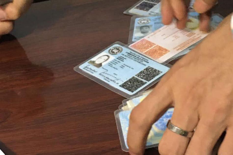 2 tiklo sa paggawa at bentahan ng voter's ID 1