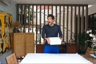 Nico Bolzico pokes fun at Matteo Guidicelli in his own unboxing video