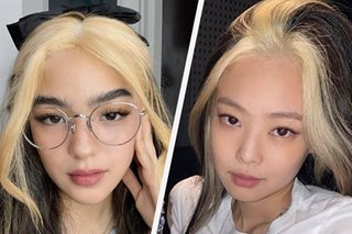 LOOK: Andrea Brillantes' hairstyle takes cue from Jennie of Blackpink