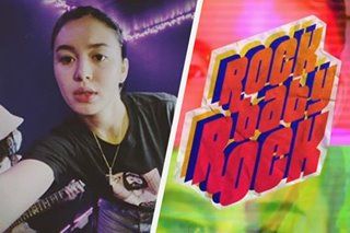 WATCH: Claudia Barretto sings cover of 'Rock Baby Rock'