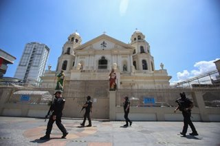 Quiapo Church temporarily closed