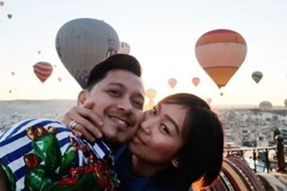 Jhong Hilario, girlfriend mark 9th anniversary