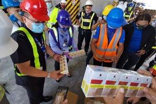 P93 milyong halaga ng umano'y smuggled na sigarilyo, nasabat sa Port of Subic
