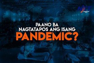 Paano natatapos ang isang pandemic?