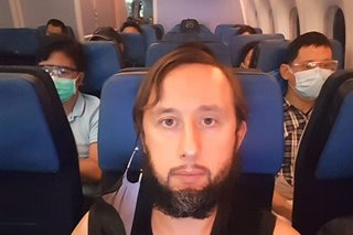 Estonian national trapped in NAIA for 110 days is finally on his way home
