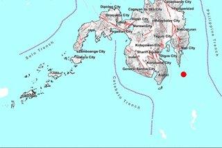 Magnitude 4.1 quake hits off Davao Oriental