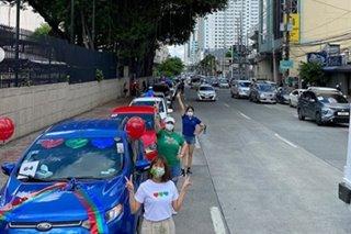 Karla, Jolina at Melai, nakiisa sa caravan para sa prangkisa ng ABS-CBN