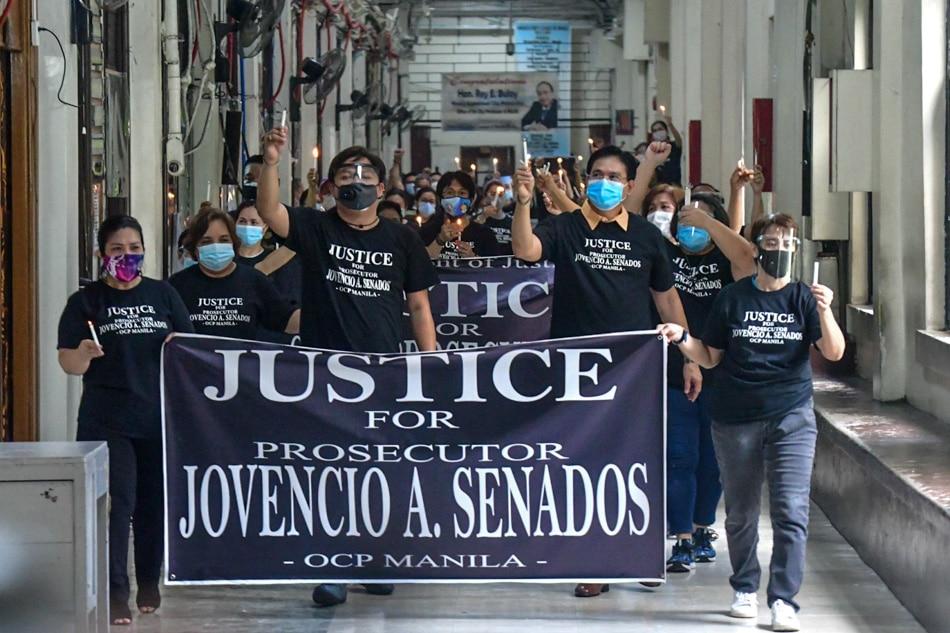 Justice for Prosecutor Senados