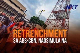 Retrenchment sa ABS-CBN, nagsimula na