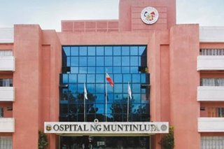 Ospital ng Muntinlupa reaches full capacity for COVID-19 cases: mayor