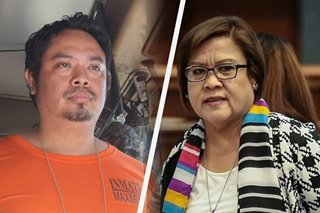 DOJ confirms death of drug convict who tagged De Lima in narcotics trade