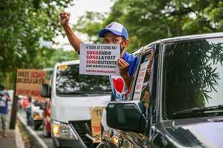 Labor groups blast Duterte for failing to address workers' rights