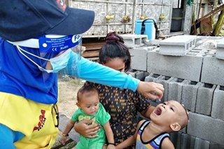 Higit 300,000 bata sa Bangsamoro nabigyan ng polio vaccine