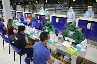 NAIA T4 ginawa munang COVID-19 testing site para sa airport employees