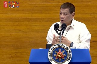 Did Duterte's speech address COVID-19 crisis?