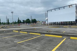 LOOK: First PH drive-in theater in Pampanga set to open amid pandemic