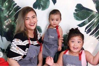 Karen Reyes celebrates son's first birthday