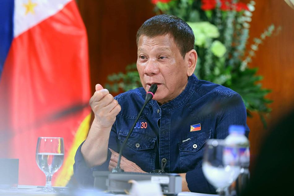 Duterte insists gov't can't disclose COVID-19 vaccine price