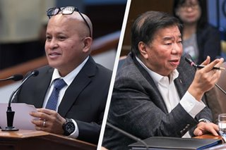 Dela Rosa tells Drilon: You are my 'idol' in lawmaking