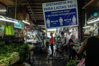 Buying essential goods at the start of MECQ in Metro Manila
