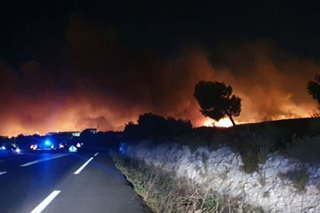 Thousands rescued from destructive forest fires in southern France