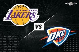 NBA: Chris Paul steers Thunder past cold-shooting Lakers