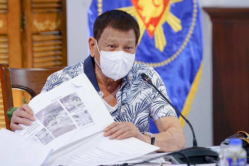 Duterte reviews proposed virology research institute as coronavirus grips PH