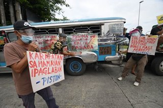Jeepney drivers call for 100 percent 'balik pasada'