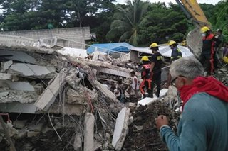 NDRRMC verifying reported death of ex-policeman in Masbate quake
