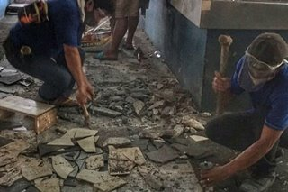 Vico Sotto: After 12-year complaint, slippery tiles at Pasig market being replaced