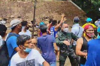 Informal settlers sa umano'y NKTI compound pinalayas ng QC gov't sa gitna ng pandemya