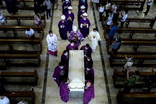 Archbishop Cruz laid to rest