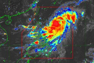 'Julian' strengthens into a typhoon, remains far from PH landmass