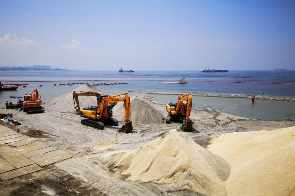 SONA 2021: Duterte says gov't to continue replenishing Manila Bay dolomite beach 1