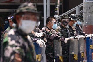 PNP takes precaution against COVID-19