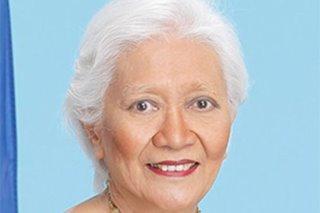 Sorsogon Rep. Ditas Ramos passes away