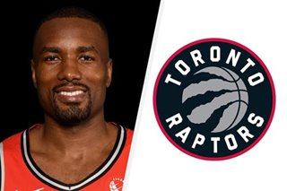 NBA: Toronto's Ibaka uncertain for Game 6 with sprained ankle